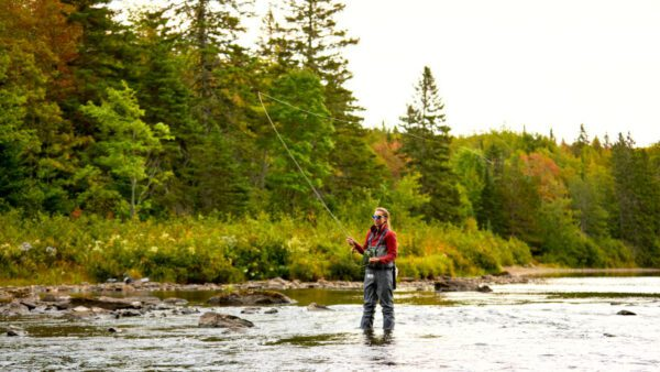 Maine fly-fishing