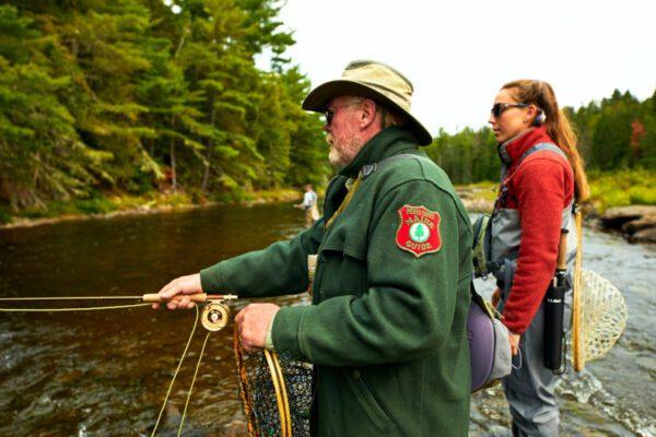 Maine fall fly fishing