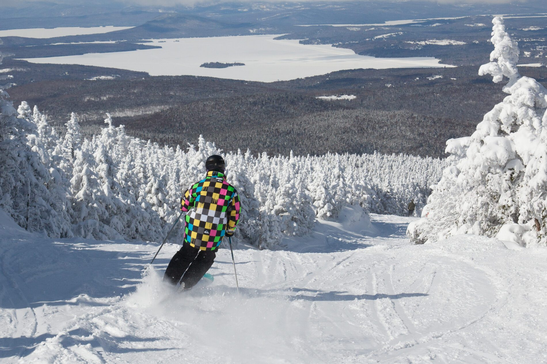 There's plenty of downhill skiing left to enjoy in Maine.