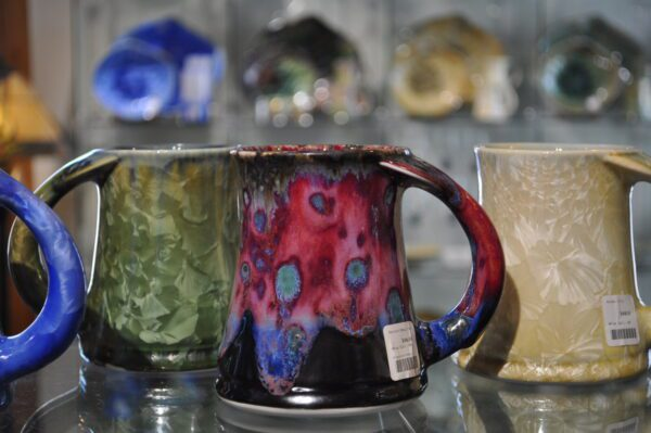 Maine Pottery Mugs