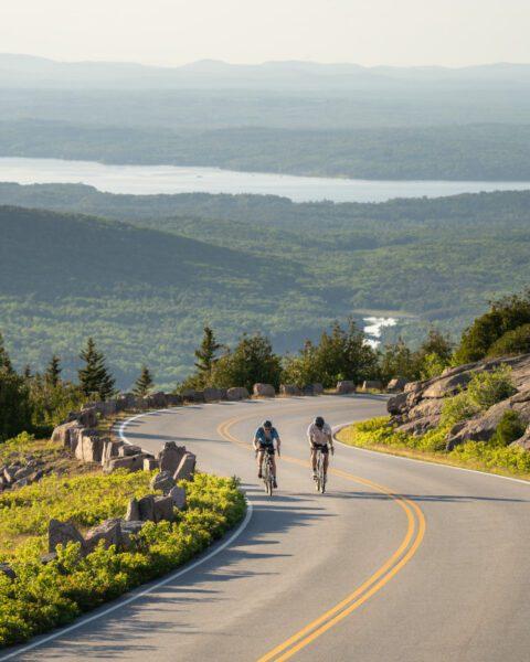Maine biking