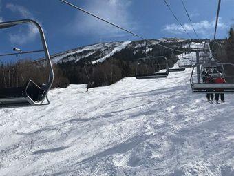 Off to a great spring skiing season at Sugarloaf.
