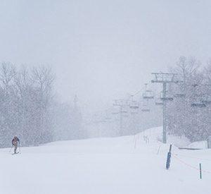 Snowing at Sugarloaf