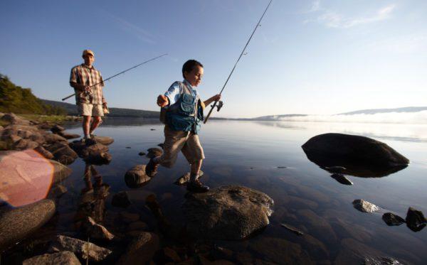 Fishing at Lakewood Camps