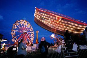 Fryeburg Fair midway