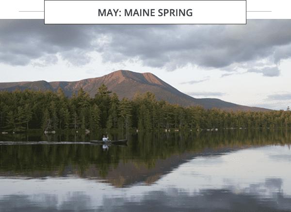 Baxter State Park kayak