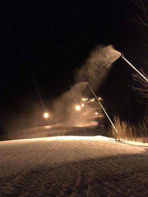 Mt. Abram snowmaking