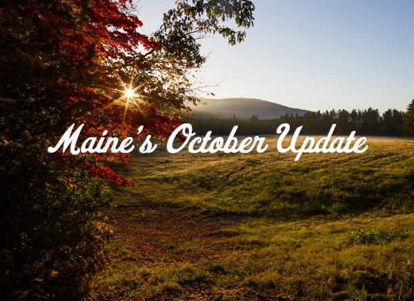 Maine's October Update