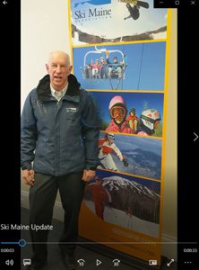 Ski Maine Executive Director Greg Sweetser