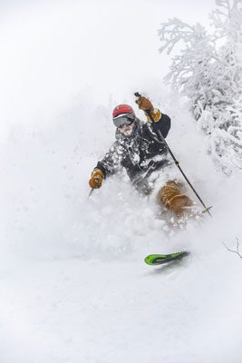 Fresh powder at Sugarloaf. Click on the image above for a Dropbox of Maine winter images and video.