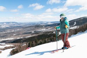 Sugarloaf views - Click on the image above to access more Maine winter images.