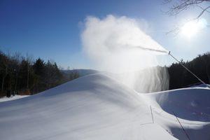 Snowmaking at Sunday River